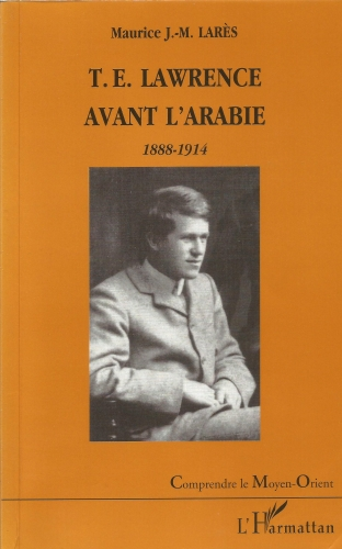 Lawrence avant l'Arabie-couverture.jpg